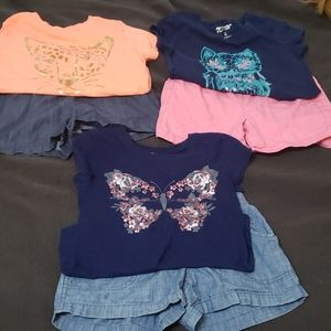 Girls outfit bundle size 7/8